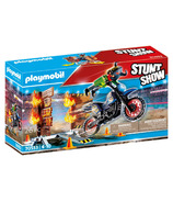 Playmobil Stunt Show Motocross with Fier