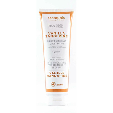 Scentuals 100% Vanilla Tangerine Hand & Body Lotion