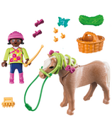 Fille avec cheval Playmobil