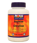 NOW Sports Arginine & Citrulline 500/250 mg