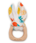 Loulou Lollipop Bunny Ear Teething Ring Cutie Fruits