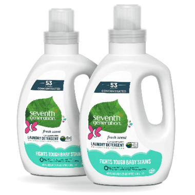Seventh Generation Baby Detergent 4X Concentrate Fresh Scent