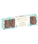 Galerie au Chocolat Milk Chocolate Caramel Snowmen
