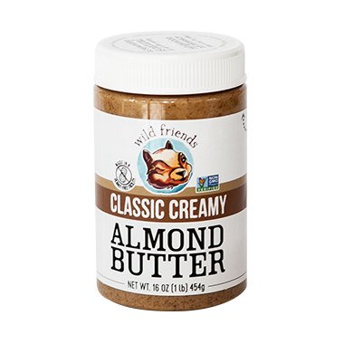 Wild Friends Classic Creamy Almond Butter