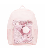Yoobi Backpack Pink Velvet