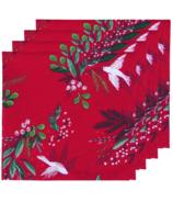 Now Designs Printed Napkin Set Winterbough