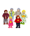 Hape Toys Happy Caucasian Family