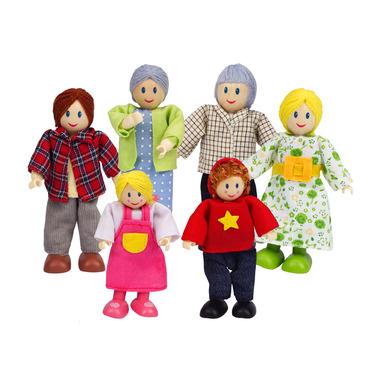 Hape Toys Happy Caucasian Family