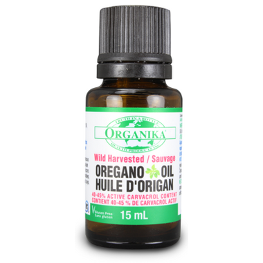 Organika Wild Harvested Oregano Oil