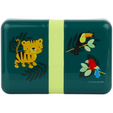 A Little Lovely Company Lunch Box Container Jungle Tiger