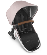 UPPAbaby VISTA V2 Rumbleseat Alice Dusty Pink Silver Saddle Leather