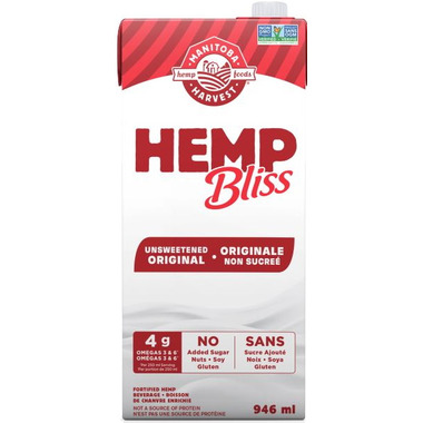 Manitoba Harvest Hemp Bliss Unsweetened Original