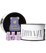 Happy Wax Classic Tin Lavender Chamomile Soy Wax Melts