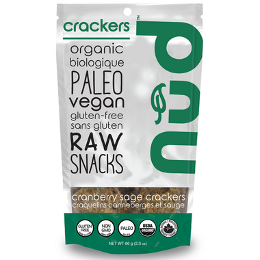 Nud Fud Cranberry & Sage Crackers