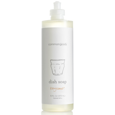 Common Good Dish Soap in Bergamot