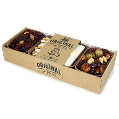 Original Cake Co. Luxury Christmas Fruit Cake Gift Pack