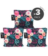 Colibri Large Snack Bag Bundle - Roses
