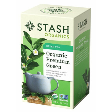 Stash Organic Premium Green Tea