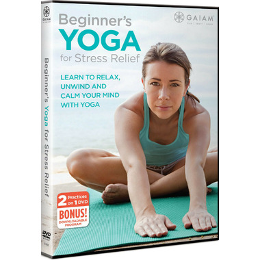 Gaiam Beginners Yoga For Stress Relief