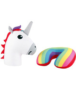 Kikkerland Unicorn Zip & Flip Pillow