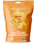 Woodridge Snacks Cheddar Cheese Sticky Rice Chips