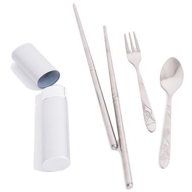 Onyx Silver Cutlery Set