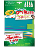Crayola Washable Dry Erase Travel Pack