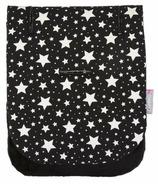 CuddleCo. Comfi-Cush Memory Foam Stroller Liner Black & White Stars