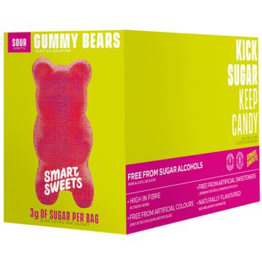 SmartSweets Sour Gummy Bears Bulk Pack