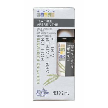 Aura Cacia Tea Tree Essential Oil Roll-On