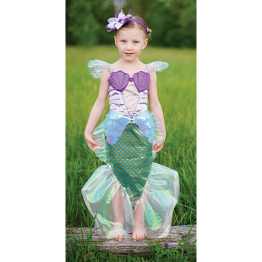 Great Pretenders Lilac Mermaid Dress with Headband