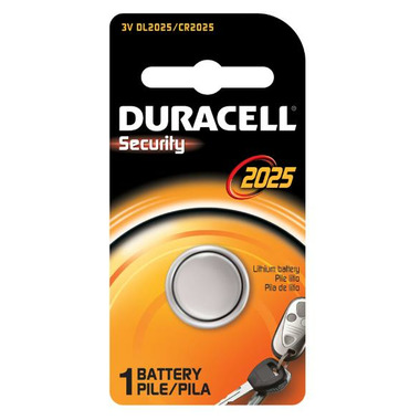 Duracell Lithium 2025 Keyless Entry 3V Battery