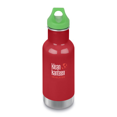 Klean Kanteen Insulated Kid Classic with Kid Loop Cap Mineral Red
