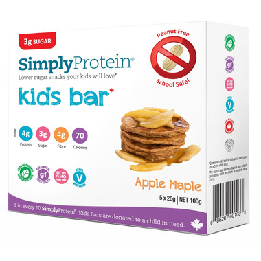 Simply Protein Kids 5 Pack Apple Maple