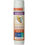 Badger SPF 35 Clear Zinc Kids Face Stick