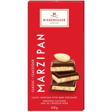 Niederegger Classic Dark Chocolate Marzipan Bar 110g