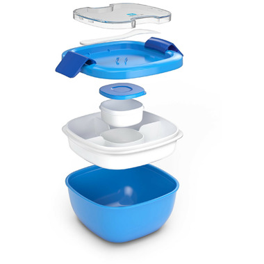 Bentgo Salad On-the-Go Container Blue