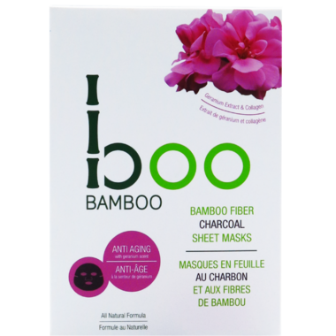 Boo Bamboo Sheet Mask Anti Aging 3 Pack