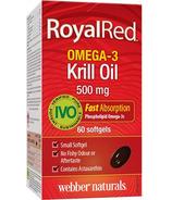 Webber Naturals RoyalRed Omega-3 Krill Oil