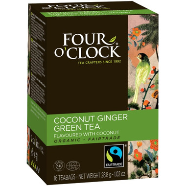 Four O\'Clock Coconut Ginger Green Tea