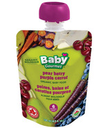 Baby Gourmet Pear Berry Purple Carrot Puree Baby Food