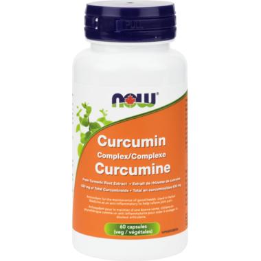 NOW Foods Curcumin Complex Veg Capsules