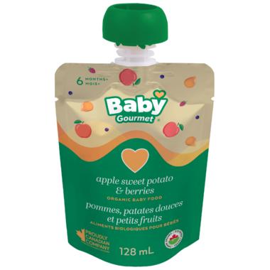 Baby Gourmet Apple Sweet Potato Berry Organic Baby Food