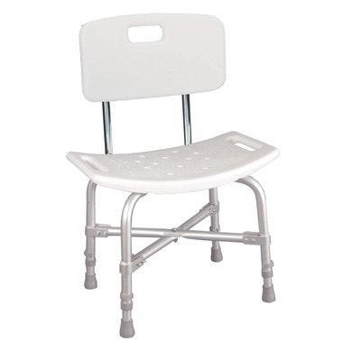 Drive Medical Deluxe Bariatric Bath Bench with Back