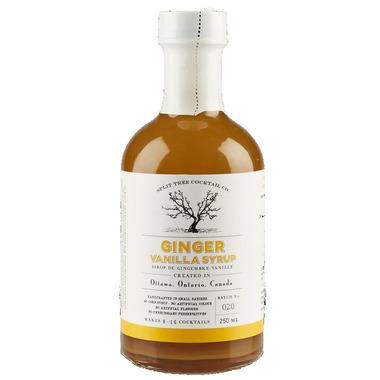 Split Tree Cocktail Co. Vanilla Ginger Syrup