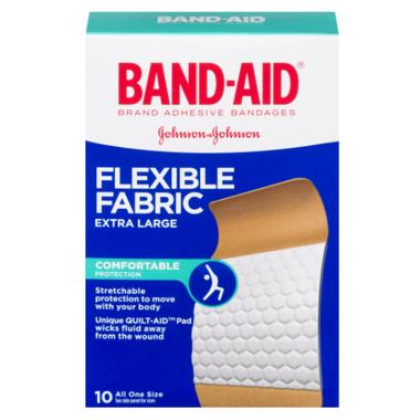 Band-Aid Flexible Fabric Extra Large Bandages