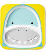 Skip Hop Zoo Divided Plate Shark