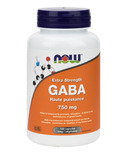 NOW Foods GABA Capsules 750 mg