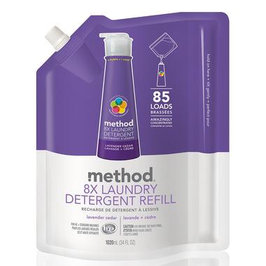 Method Laundry Detergent Refill in Lavender Cedar