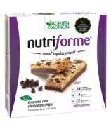 Adrien Gagnon Nutriforme Meal Replacement Bar Granola & Chocolate Chips